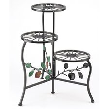 <strong>Zingz & Thingz</strong> Apple Cart Tri-Level Plant Stand