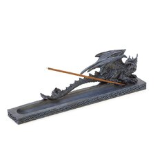 <strong>Zingz & Thingz</strong> Gothic Dragon Incense Burner Figurine