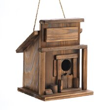 Old West Hanging Birdhouse