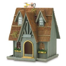 Fairytale Cottage Hanging Birdhouse