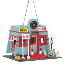 <strong>Zingz & Thingz</strong> Route 66 Diner Hanging Birdhouse