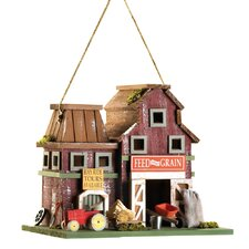 Feed and Grain Hanging Birdhouse