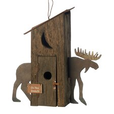 Outhouse Hanging Birdhouse