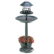 Lantern Birdbath Planter