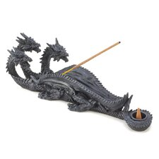 Gothic Triple Dragon Incense Burner