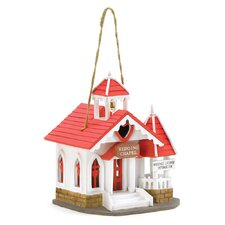 Bright Chapel Hanging Birdhouse