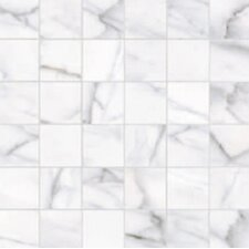 Calacatta High Definition Porcelain Matte Tile in White