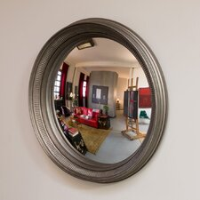 "Ilyrian 33"" Convex Wall Mirror"