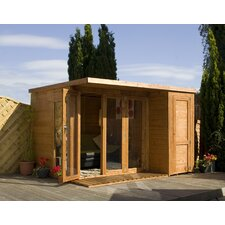 Garden Room with Side Shed