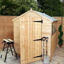Shiplap OSB Apex Storage Shed with Large Door