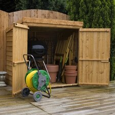 Overlap Mowerstore Shed with Double Doors