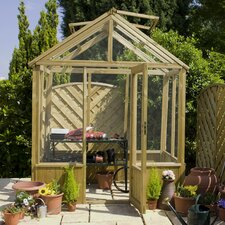 Greenhouse with Lockable Door