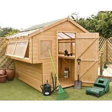 Potting Shed with Double Side