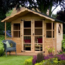 Premium T&G Summerhouse with 3 Doors