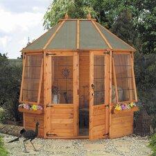 Octagonal Summerhouse with Styrene Glazed Windows