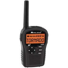 <strong>Midland</strong> SAME All-Hazard Handheld Weather Alert Radio