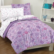 <strong>Dream Factory</strong> Stars and Crowns Bed Set