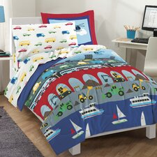 Big City 5 Pieces Bed Set