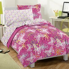 <strong>Dream Factory</strong> Butterfly Party Bed Set