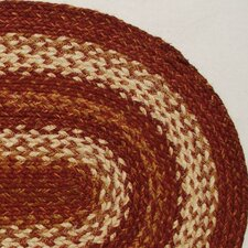 <strong>Green World Rugs</strong> Oval Redwood Table Runner