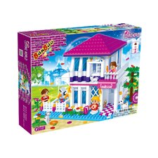 Loving World Summer House Block Set