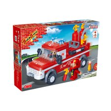 Fire Brigade 152 Piece Fire Engine Block Set