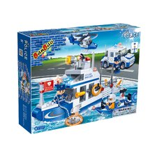 418 Piece Police Coast Guard Block Set Set