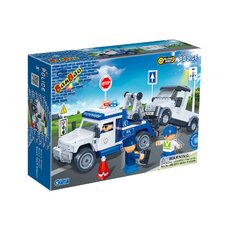245 Piece Police Tow Truck Block Set