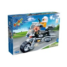 140 Piece Police Motor 2 Block Set