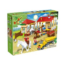 338 Piece Horse Stables Block Set