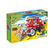 228 Piece Wheat Harvester Block Set