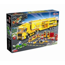660 Piece Racer Maintenance Truck Block Set