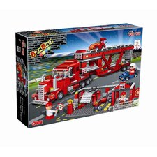 660 Piece Transportation Truck Block Set