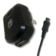 USB AC Charger with Micro USB Connector