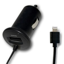 Apple Licensed USB Car Charger with Lightning Connector
