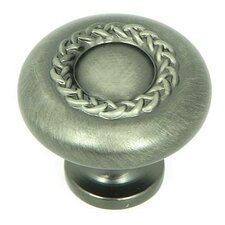 """Rope 1.25"""" Round Knob"""