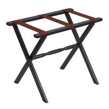 <strong>Gate House Furniture</strong> 1020 Series Straight Leg Luggage Rack