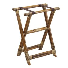 Natural Rattan Luggage Rack