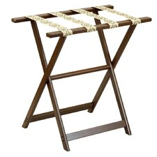 <strong>Gate House Furniture</strong> 1250 Series Tall Straght Leg Luggage Rack