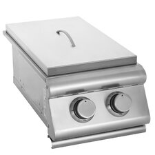 Slide-In Gas Double Side Burner