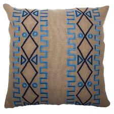 Lyon Large Square Linen Pillow