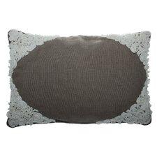 Bed of Roses Rectangular Linen Pillow