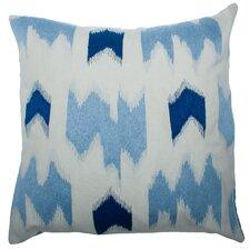 Scandia Ikat Square Linen Pillow