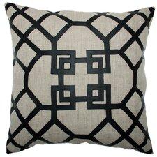 Modern Marrakech Square Linen Pillow