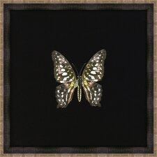 Butterflies II Framed Art in Black