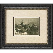 Historic Hunt II Framed Art