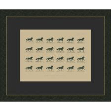 <strong>Melissa Van Hise</strong> Muybridge Riders lll Wall Art