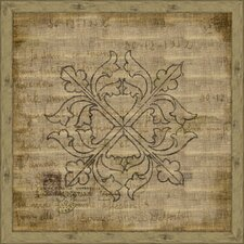 <strong>Melissa Van Hise</strong> Element on Antique Linen I Wall Art