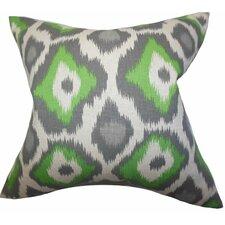 Becan Ikat Throw Pillow