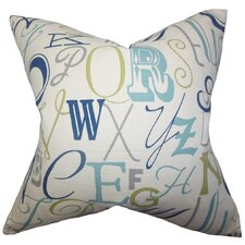 Scyler Typography Pillow